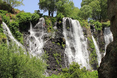 Shaki Waterfall (Armenia) Stock Image