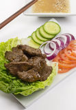 Shaking Beef Stock Image