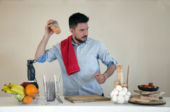 Shaking coctail Stock Images