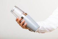 Shaking glass and shaker. royalty free stock images