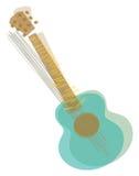 Shaking Guitar Royalty Free Stock Photos