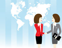 Shaking hand Royalty Free Stock Photography
