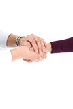 Shaking hands Royalty Free Stock Images
