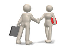 Shaking hands. This represents a handshake Royalty Free Stock Photography