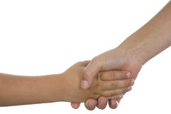 Shaking hands Stock Photo