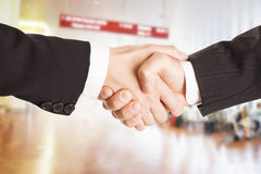 Shaking hands. Stock Image