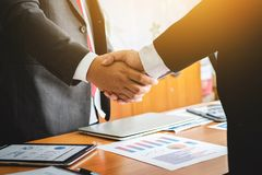 Shaking hands lawyer teamwork meeting people. royalty free stock photos