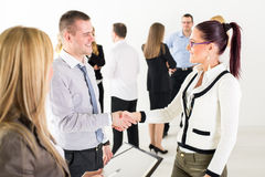 Shaking Hands Stock Images