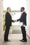 Shaking hands Royalty Free Stock Photography