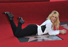Shakira,. Columbian singer Shakira on Hollywood Boulevard where she was honored with the 2,454th star on the Hollywood Walk of Fame. November 8, 2011  Los Stock Photos