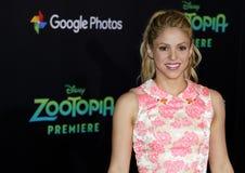Shakira Immagine Stock Libera da Diritti