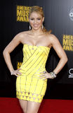 Shakira. At the 2009 American Music Awards held at the Nokia Theater in Los Angeles on November 22, 2009 Stock Photo
