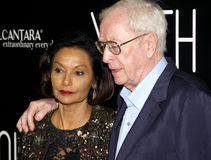 Shakira Caine and Michael Caine Stock Image