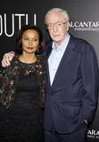 Shakira Caine and Michael Caine Royalty Free Stock Photo