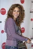 Shakira on the red carpet. Shakira at a VISA James Blunt event Royalty Free Stock Photos