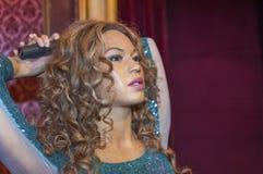 Shakira wax figure Stock Photography