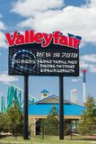 Valleyfair Amusement Park Entrance and Sign Royalty Free Stock Photography