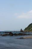 Shakotan kust- linje Fotografering för Bildbyråer