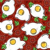 Shakshuka样式鸡蛋和更多 库存照片