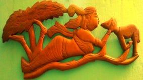 Shakuntala fotografía de archivo