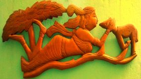 Shakuntala stockfotografie