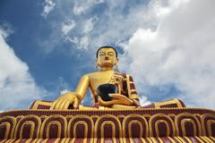 Shakyamuni Buddha Gautama statue Royalty Free Stock Images