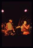 Shalamar musikband som direkt spelar i UK i tidig 80-tal för sen 70-tal Royaltyfri Fotografi