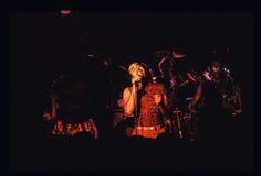 Shalamar musikband som direkt spelar i UK i tidig 80-tal för sen 70-tal Arkivfoto