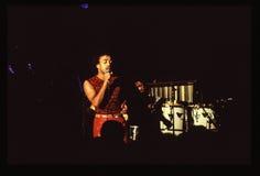 Shalamar musikband som direkt spelar i UK i tidig 80-tal för sen 70-tal Royaltyfri Bild