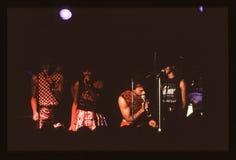 Shalamarband spelen levend in het UK in recente jaren '70 de vroege jaren '80 Royalty-vrije Stock Afbeelding