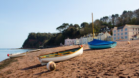 Shaldon Devon England Royalty Free Stock Photos