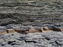 Shale Cliff Royalty Free Stock Images