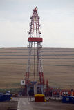 Shale gas drilling rig Stock Photography