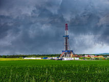 Shale gas Royalty Free Stock Photos