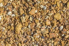 Shale. Mixed Yellow shale and sandstone soil background Royalty Free Stock Images