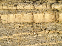 Shale rock texture Royalty Free Stock Images
