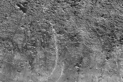 Shale Smooth Texture Earth in Black and White Royalty Free Stock Photos
