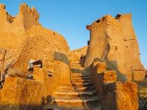 Shali Fortress in Siwa at Sunrise Royalty Free Stock Photography