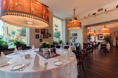 Shaliapin restauracja Zdjęcia Royalty Free
