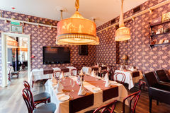 Shaliapin restaurant Stock Image