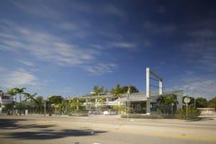 Shalimar Motel Miami MiMo district Stock Photos