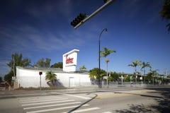 Shalimar Motel MiMo Miami Stock Photo