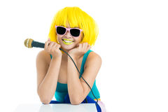 Shall we sing? Royalty Free Stock Photography