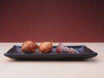 Shallot onions Stock Image