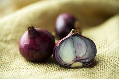 Shallots Stock Photography