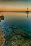 Shallow Bay Waters Stock Photography
