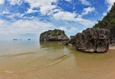 Shallow beautiful beach Royalty Free Stock Image