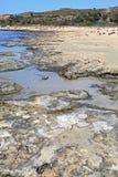 Shallow clear sea at Elafonisi, Crete Stock Image