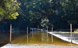 Shallow Crossing NSW. Shallow Crossing in NSW Australia Stock Photography