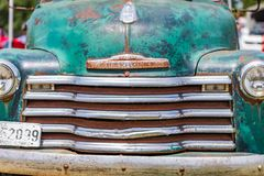 1950 Chevrolet 3100 pickup truck stock image
